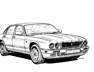 Jaguar X300 Vehicle service manual