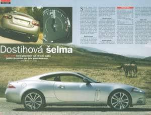 Automagazín 12/2006 – Jaguar XKR
