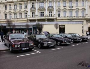 X. Concours d'Elegance 2016 Jaguar Club Karlovy Vary