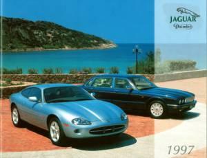Jaguar brochure 1997 CZ